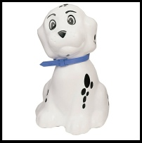 White Dog Money Box